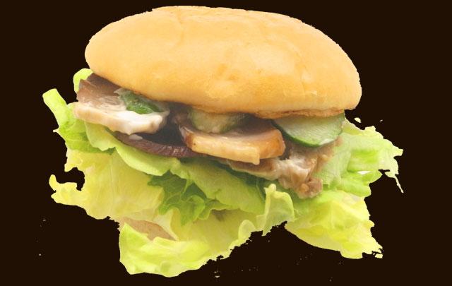 自家製やき豚レタスバーガー