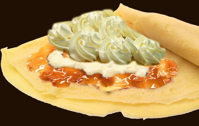 クリームチーズストロベリー生クリーム