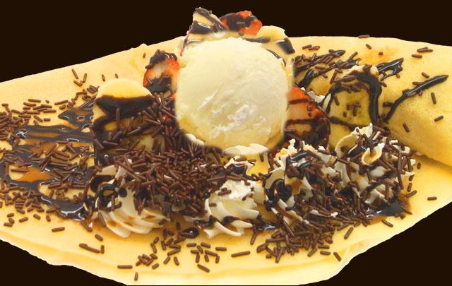 イチゴバナナWチョコアイス
