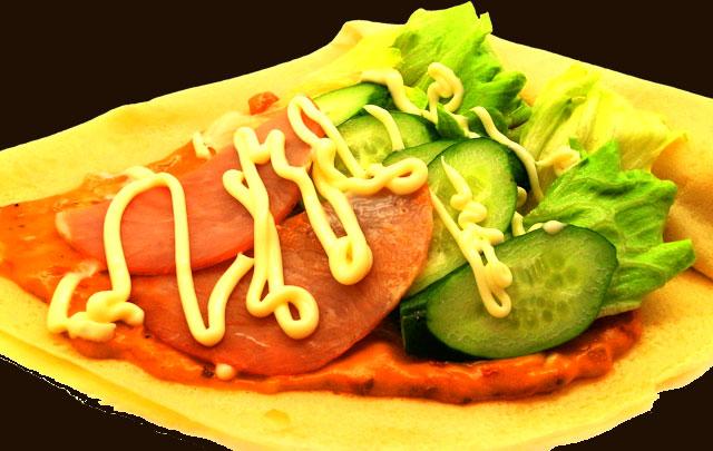 ハム野菜ピザ