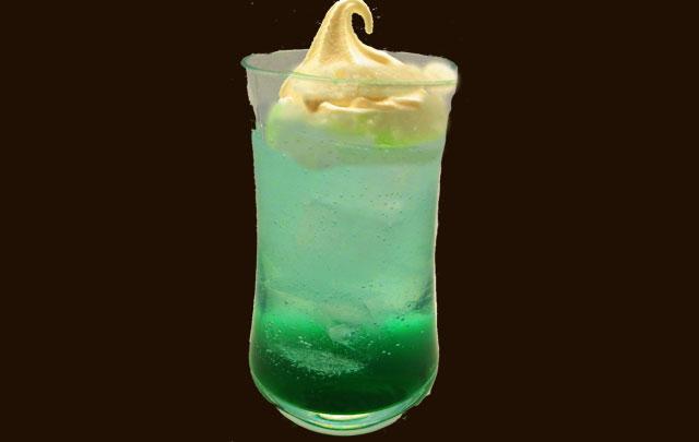 青リンゴクリームソーダ