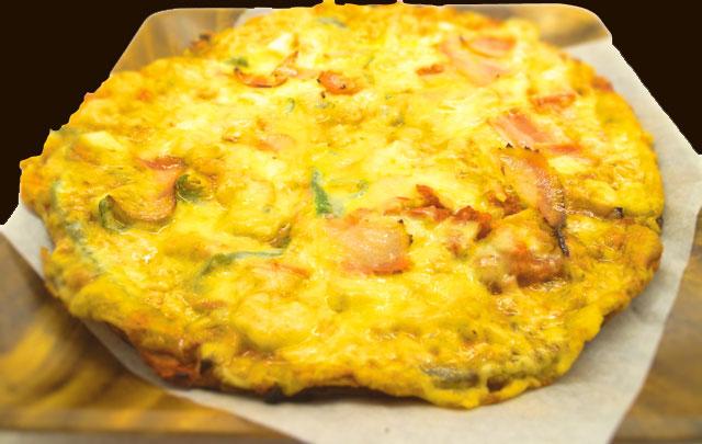 カレーピザ