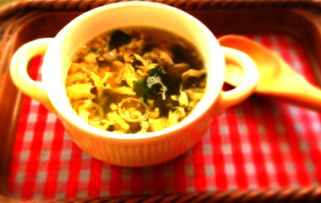 たまごスープ(オーガニック)