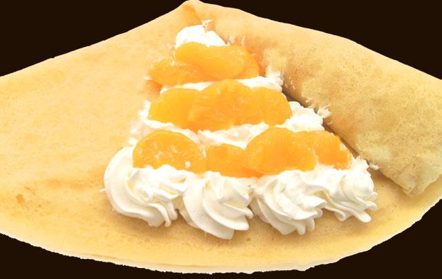 オレンジ生クリーム(国産みかん使用)