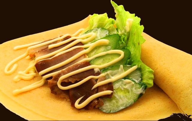 自家製やき豚サラダ