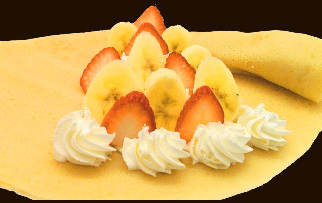 イチゴバナナ生クリーム