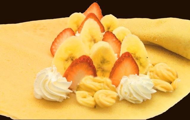 イチゴバナナWクリーム