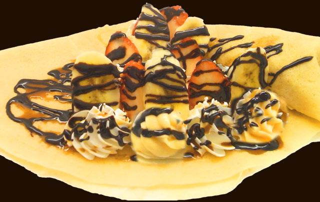 イチゴバナナチョコWクリーム