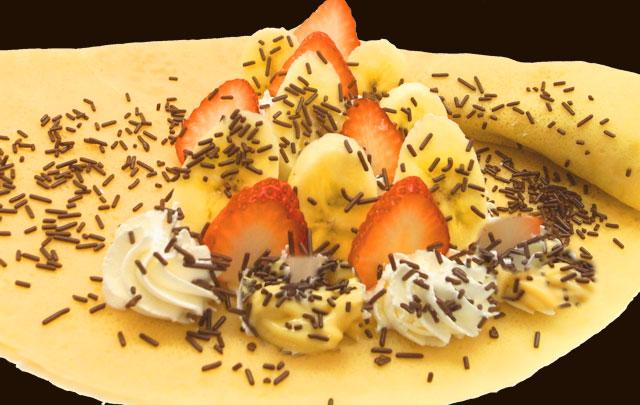 イチゴバナナスプレーチョコWクリーム