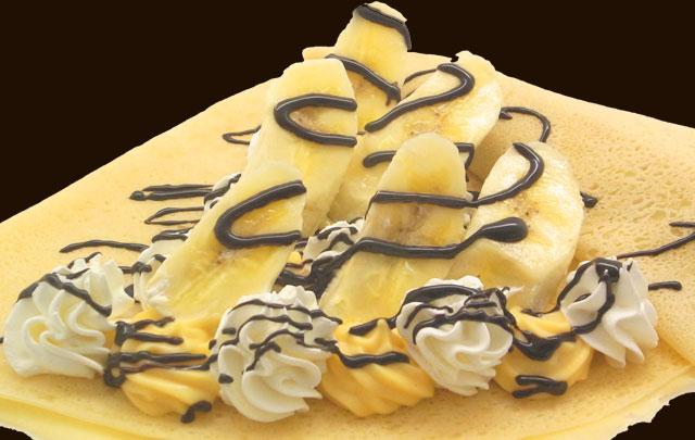 バナナチョコWクリーム