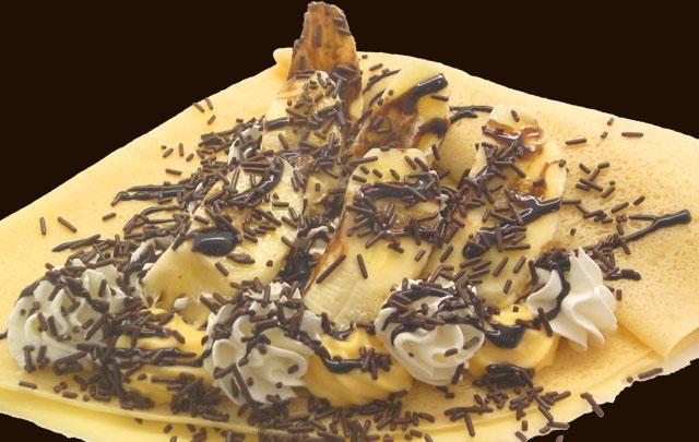 WチョコバナナWクリーム