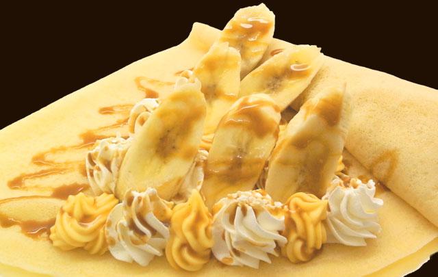 キャラメルバナナWクリーム